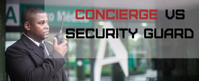 Concierge VS Security Guard | Chicago, IL